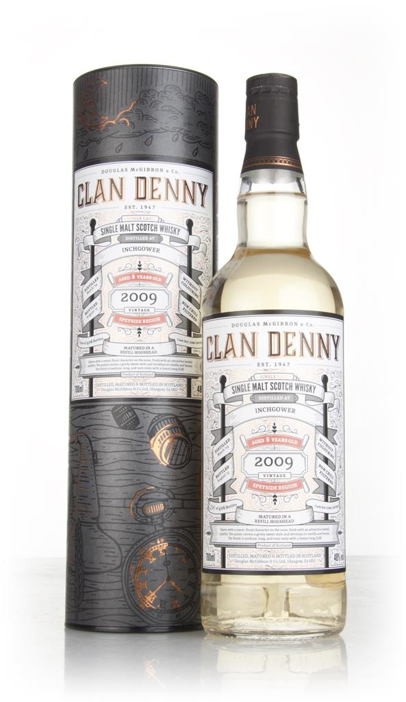 Inchgower 8 Year Old 2009 (cask 12092) - Clan Denny (Douglas Laing) Single Malt Whisky