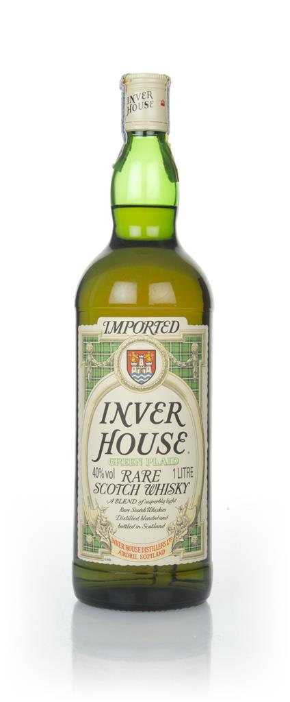 Inver House Green Plaid (1L) - 1980s Blended Whisky