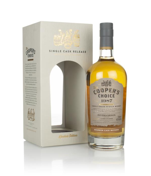 Invergordon 33 Year Old 1987 (cask 88794) - The Coopers Choice (The V Grain Whisky