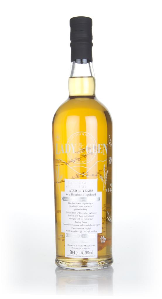 Invergordon 30 Year Old 1987 (cask 104373) - Lady of the Glen (Hannah Grain Whisky