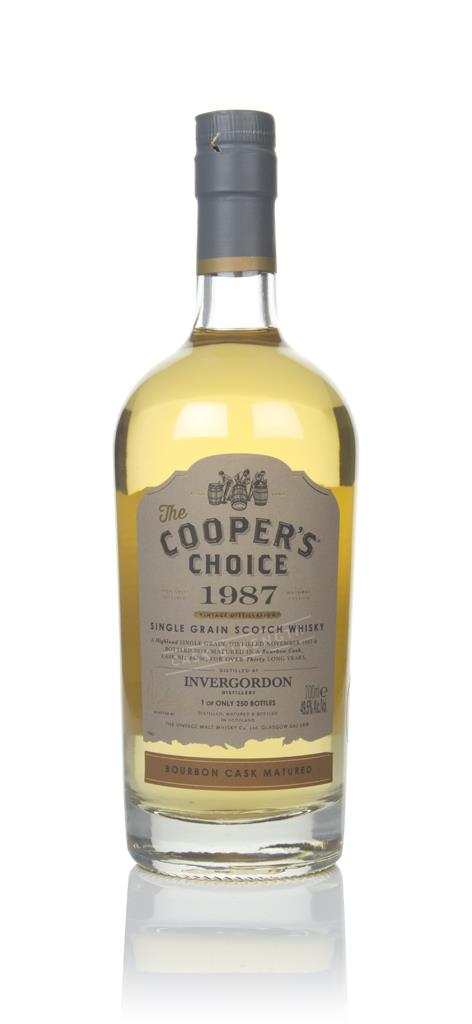 Invergordon 30 Year Old 1987 (cask 88796) - The Coopers Choice (The V Grain Whisky