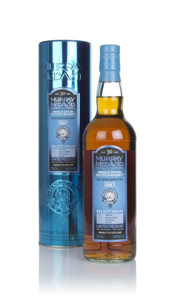 Invergordon 30 Year Old 1987 (cask 903159) - Select Grain (Murray McDa Grain Whisky