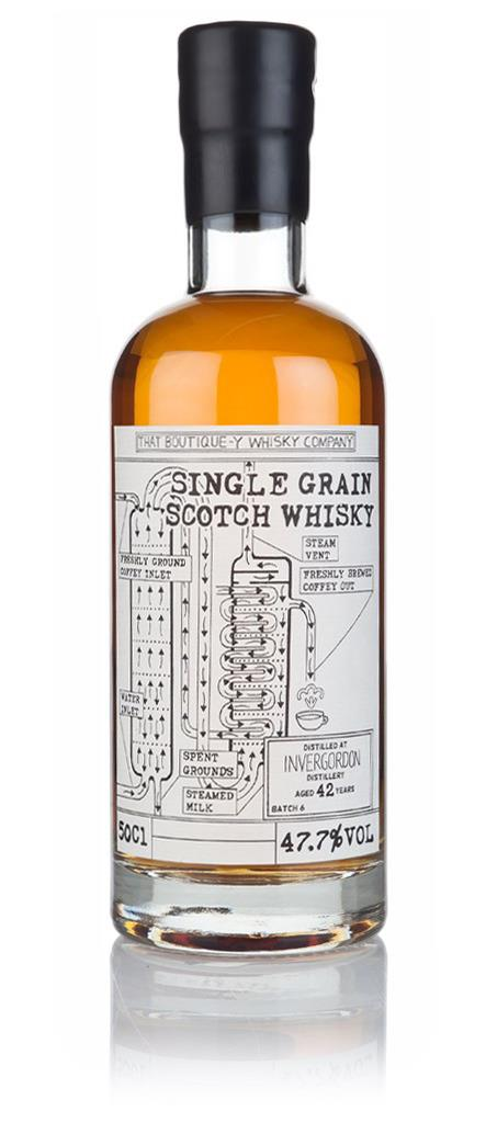 Invergordon 42 Year Old - Batch 6 (That Boutique-y Whisky Company) 3cl Grain Whisky 3cl Sample