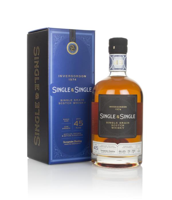 Invergordon 45 Year Old 1974 - Single & Single Grain Whisky