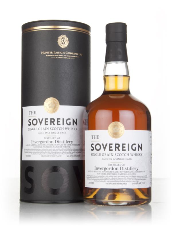 Invergordon 50 Year Old 1966 (cask 12235) - The Sovereign (Hunter Lain Grain Whisky 3cl Sample