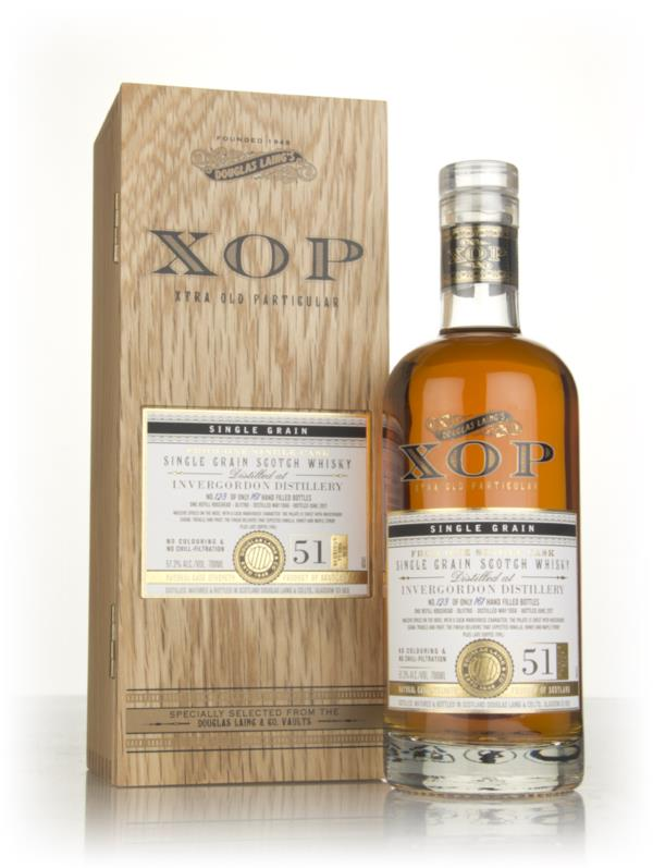 Invergordon 51 Year Old 1966 (cask 11760) - Xtra Old Particular (Dougl Grain Whisky 3cl Sample