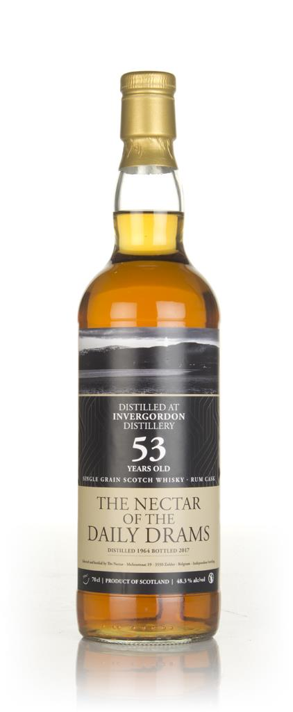 Invergordon 53 Year Old 1964 - The Nectar of the Daily Drams Grain Whisky