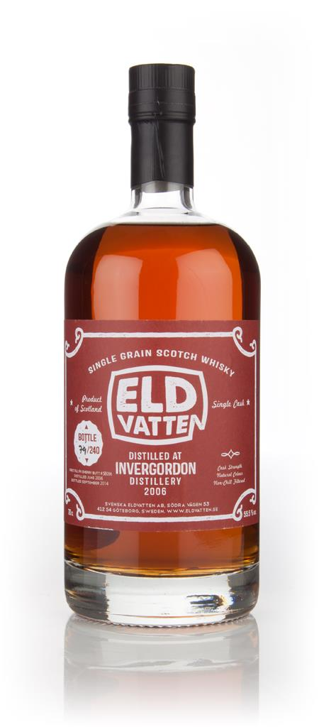 Invergordon 8 Year Old 2006 (cask SE036) - Svenska Eldvatten Grain Whisky