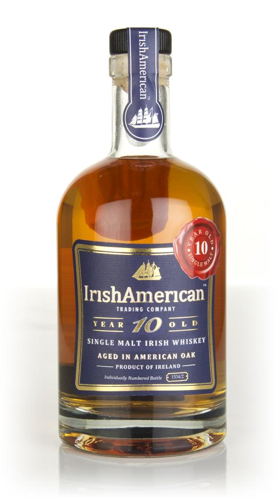 IrishAmerican 10 Year Old Single Malt Whiskey