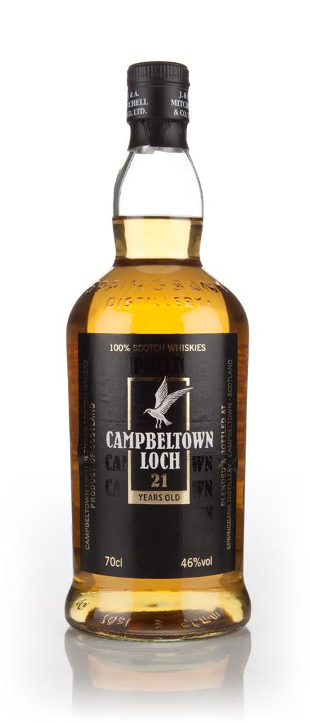 Campbeltown Loch 21 Year Old 46% Blended Whisky
