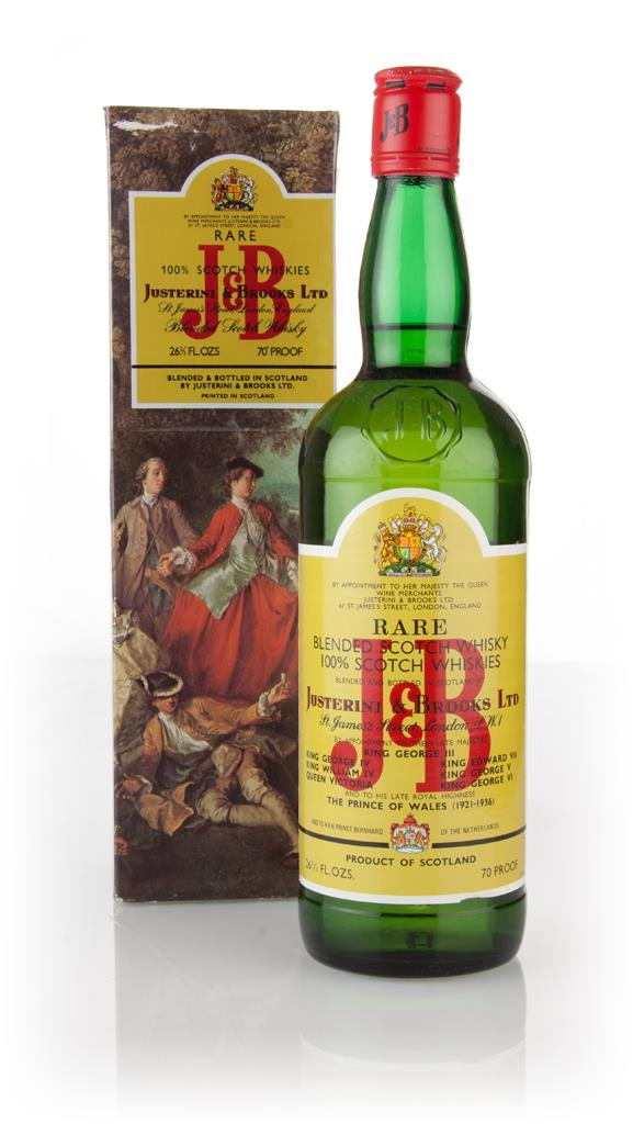 J&B Rare (boxed) - 1970s Blended Whisky