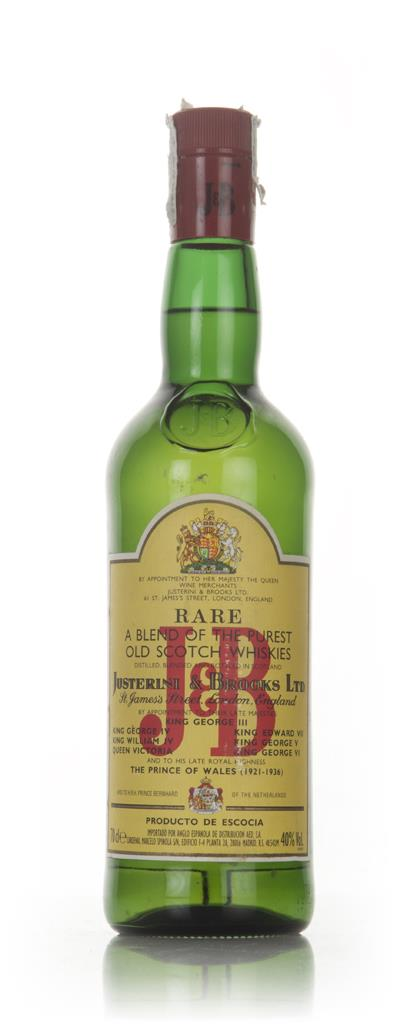 J&B Rare - 1980s Blended Whisky