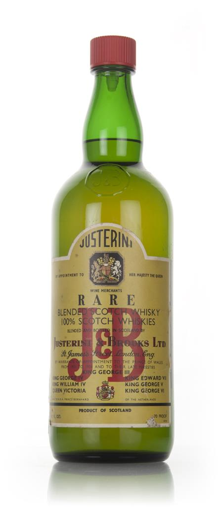J & B Rare (large bottle) - 1960s Blended Whisky