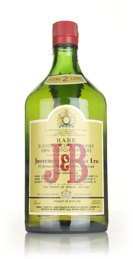 J&B Rare (2L) - 1970s Blended Whisky