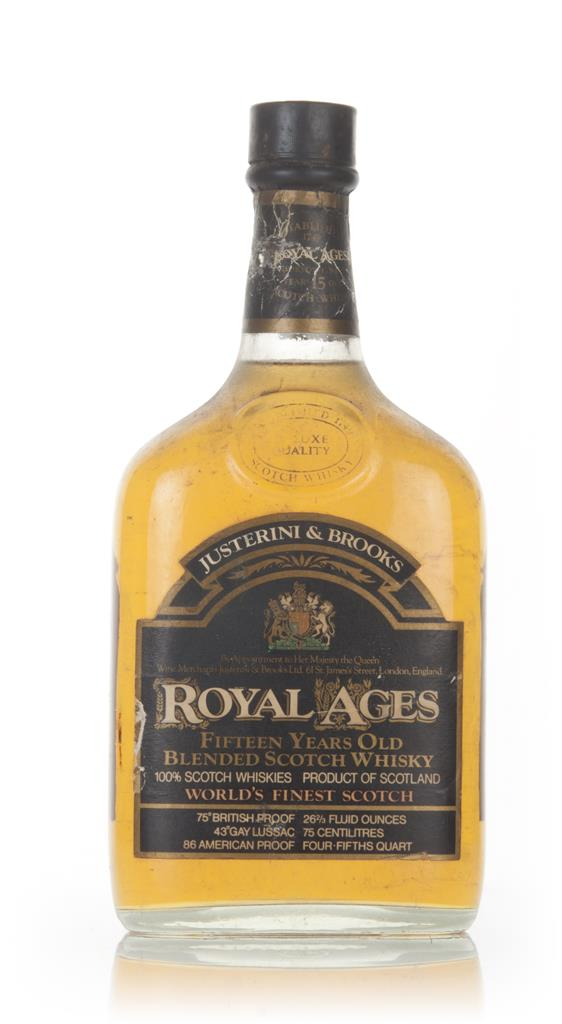 J&B Royal Ages 15 Year Old - 1960s Blended Whisky