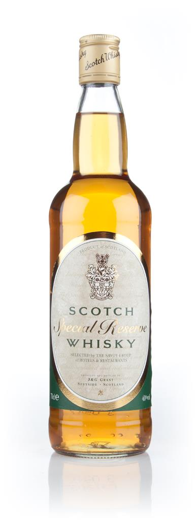 Special Reserve Scotch Whisky (Selected by the Savoy Group of Hotels & Blended Whisky