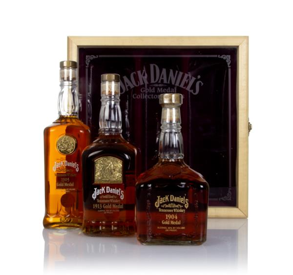 Jack Daniels Gold Medal Series Case Tennessee Whiskey