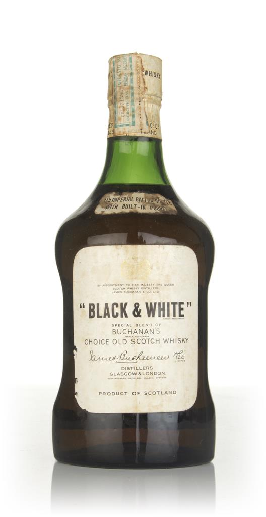 Black & White (2L) - 1960s Blended Whisky