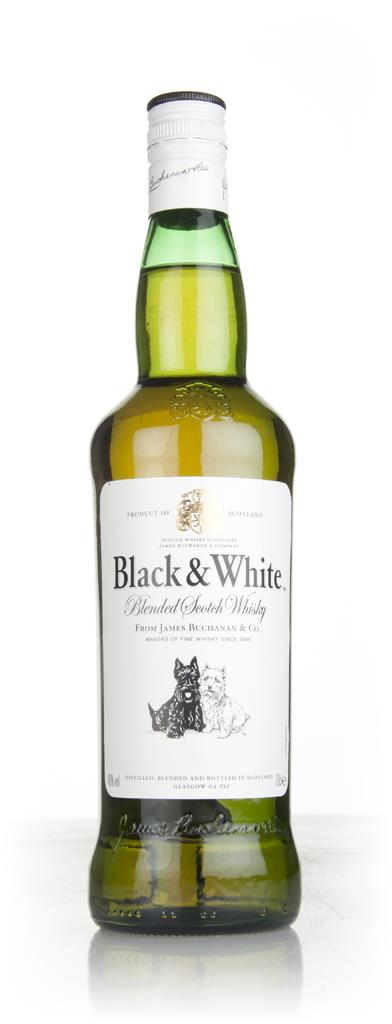 Black & White Blended Scotch Blended Whisky