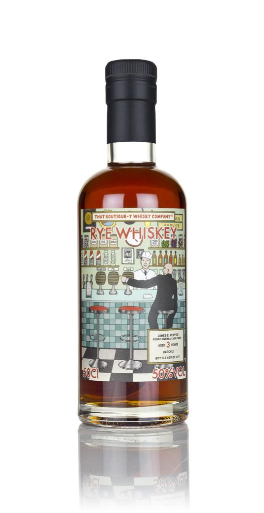 James E. Pepper 3 Year Old - Pedro Ximenez Cask Finish (That Boutique- Rye Whiskey
