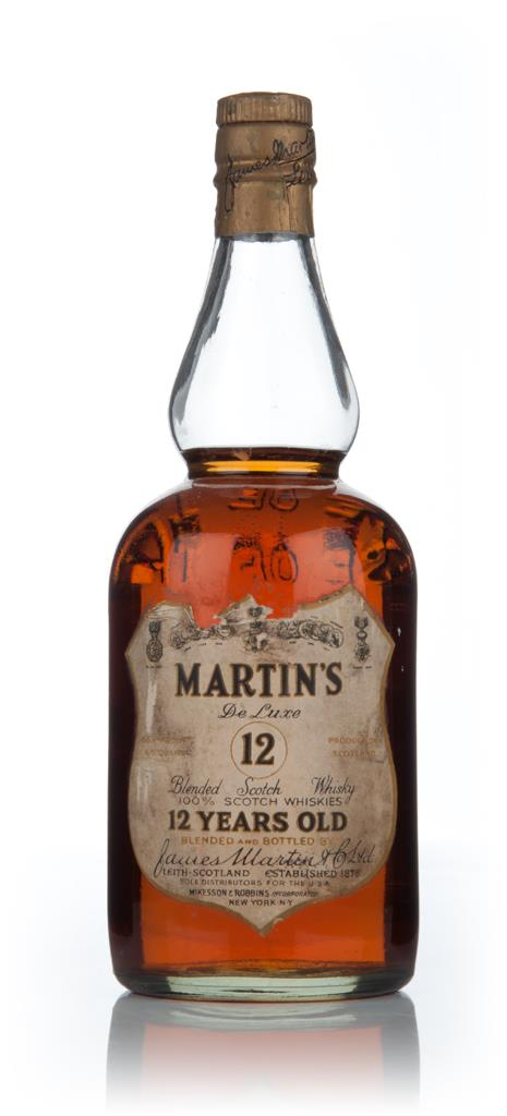 James Martins 12 Year Old - pre 1964 Blended Whisky