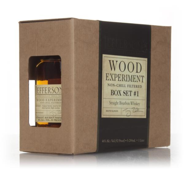 Jeffersons Wood Experiment - Box Set #1 Bourbon Whisky