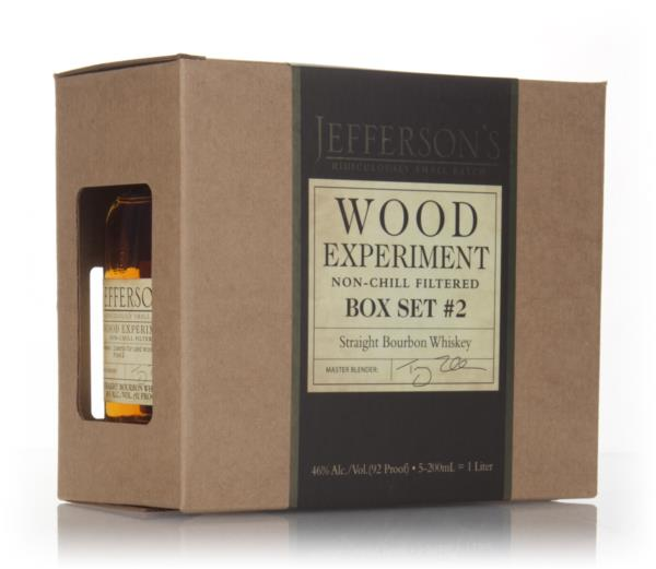 Jeffersons Wood Experiment - Box Set #2 Bourbon Whisky
