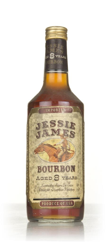 Jessie James 8 Year Old Bourbon - 1970s Bourbon Whiskey