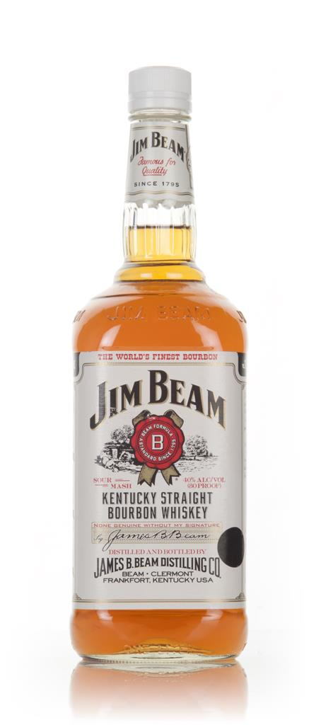 Jim Beam White Label - 1990s Bourbon Whiskey