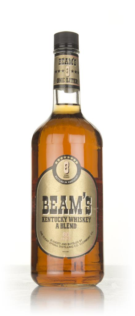 Beams 8 Star (bottled 1986) Blended Whiskey