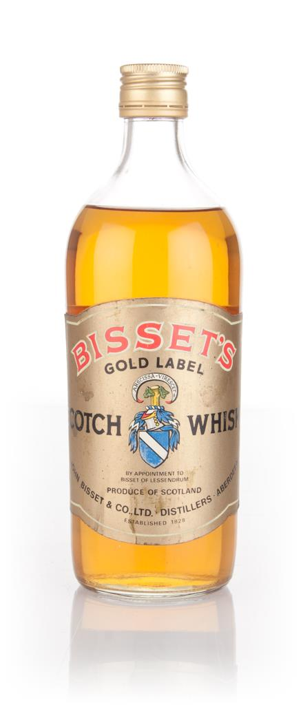 John Bissets Gold Label - 1970s Blended Whisky