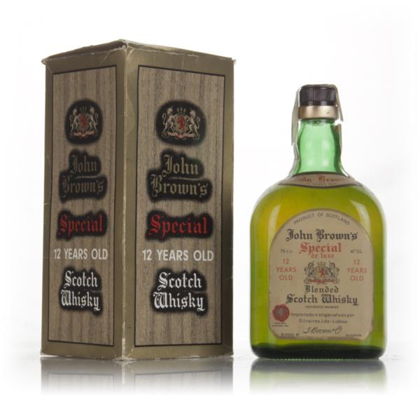 John Browns Special de Luxe 12 Year Old - 1960s Blended Whisky