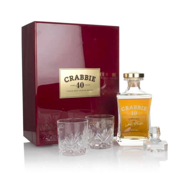 Crabbie 40 Year Old Single Malt Whisky