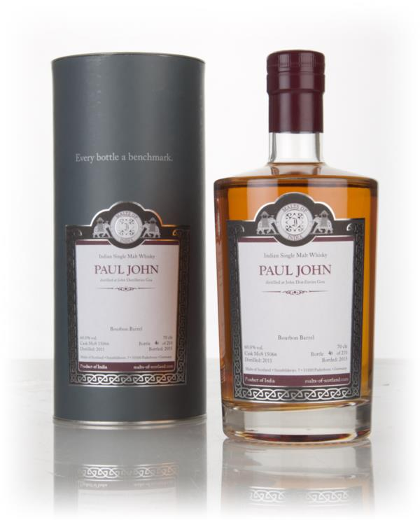 Paul John 2011 (bottled 2015) (cask 15066) - Malts of Scotland Single Malt Whisky
