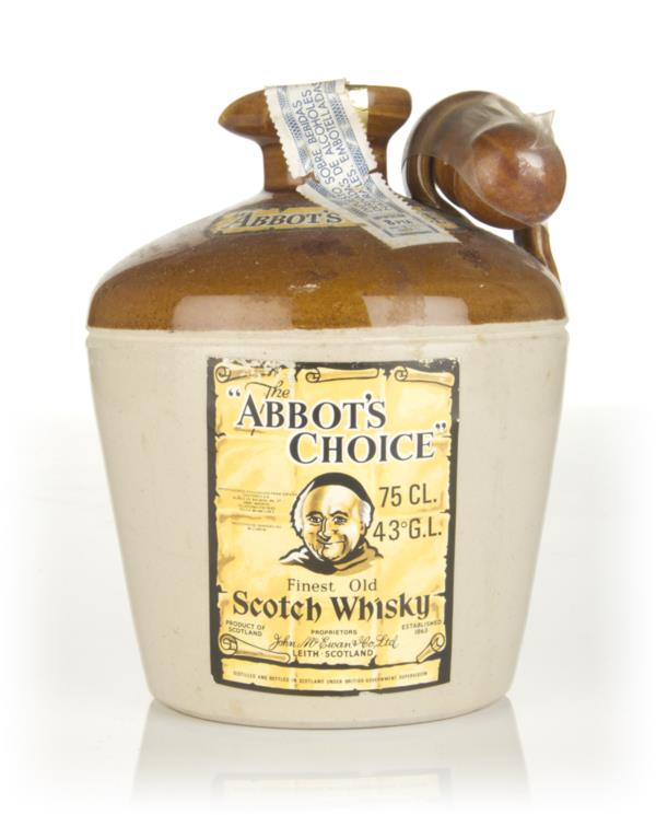 The Abbots Choice Ceramic Jug - 1970s Blended Whisky