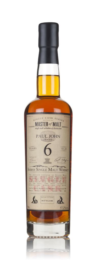 Paul John 6 Year Old 2009 (cask 809) - Single Cask (Master of Malt) Single Malt Whisky