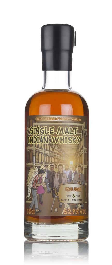 Paul John 6 Year Old (That Boutique-y Whisky Company) Single Malt Whisky