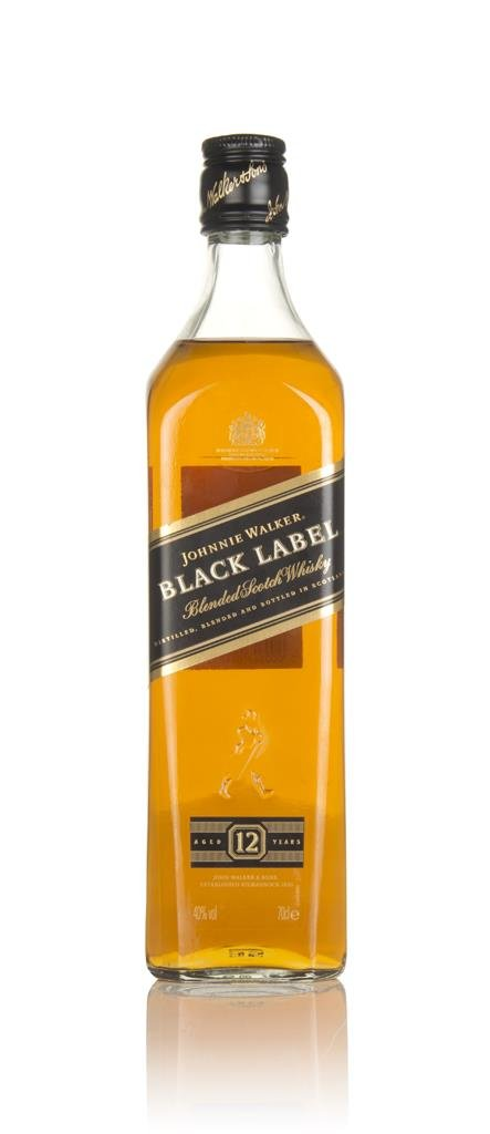 Johnnie Walker Black Label 12 Year Old Blended Whisky