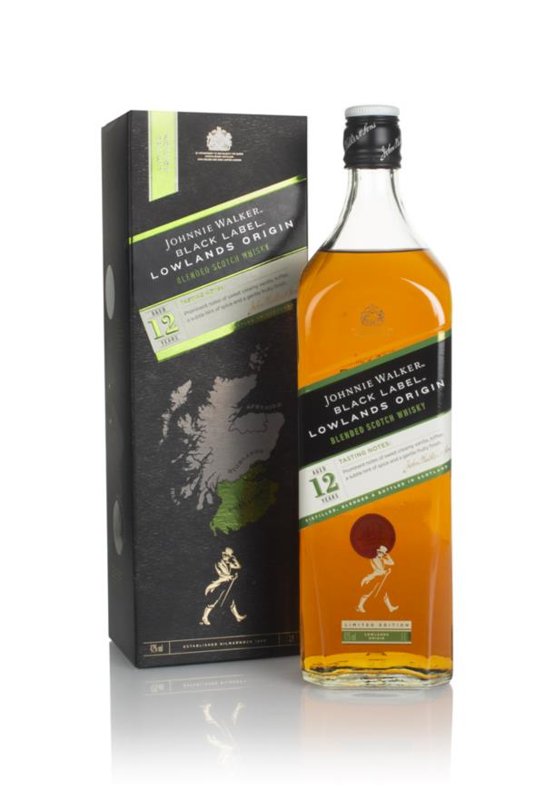 Johnnie Walker Black Label 12 Year Old Lowlands Origin Blended Whisky
