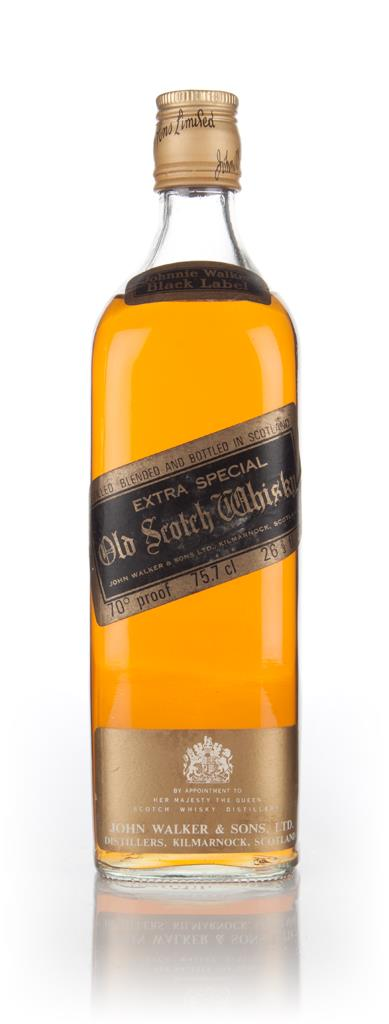 Johnnie Walker Black Label Extra Special - 1970s Blended Whisky