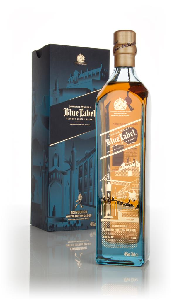 Johnnie Walker Blue Label - Edinburgh Limited Edition Design Blended Whisky