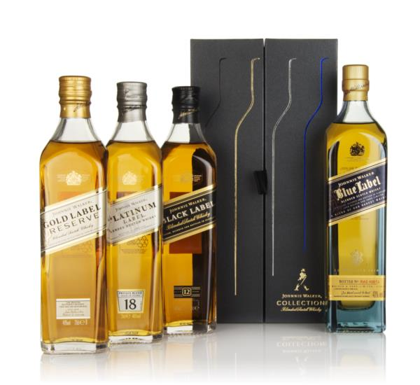Johnnie Walker Collection Pack (4 x 20cl) Blended Whisky