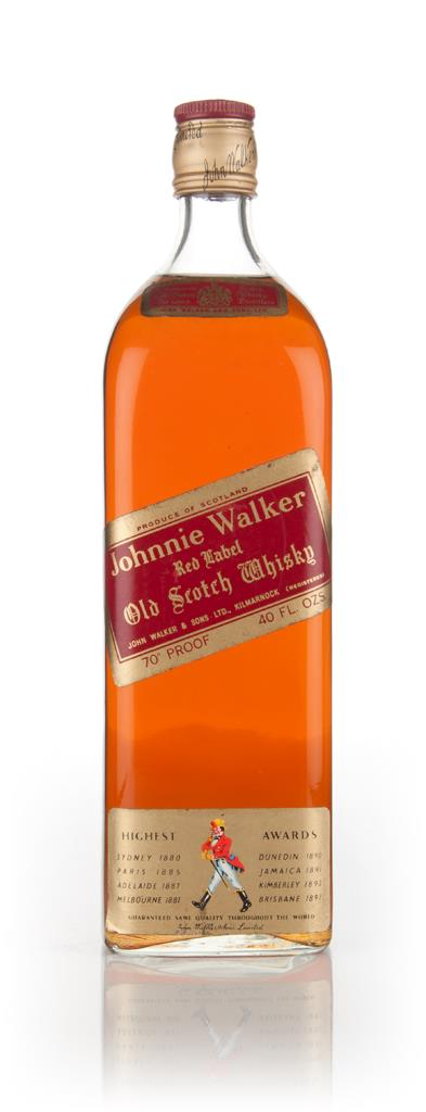 Johnnie Walker Red Label 113cl  - 1970s Blended Whisky