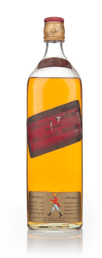 Johnnie Walker Red Label (approx. 1l) - 1970s Blended Whisky