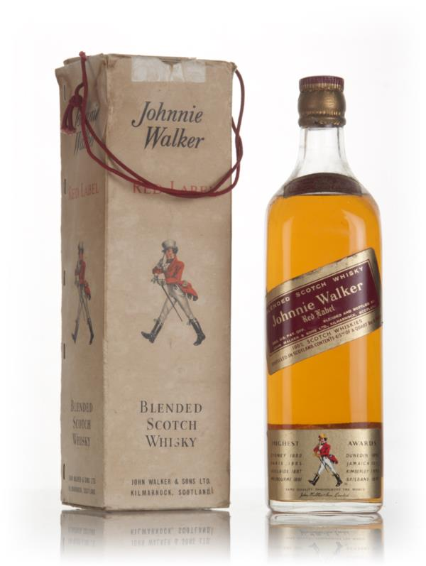 Johnnie Walker Red Label - 1970s (boxed) Blended Whisky
