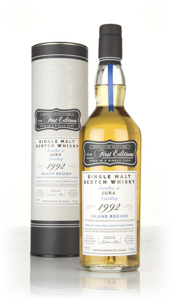 Jura 25 Year Old 1992 (cask 12459) - The First Editions (Hunter Laing) Single Malt Whisky