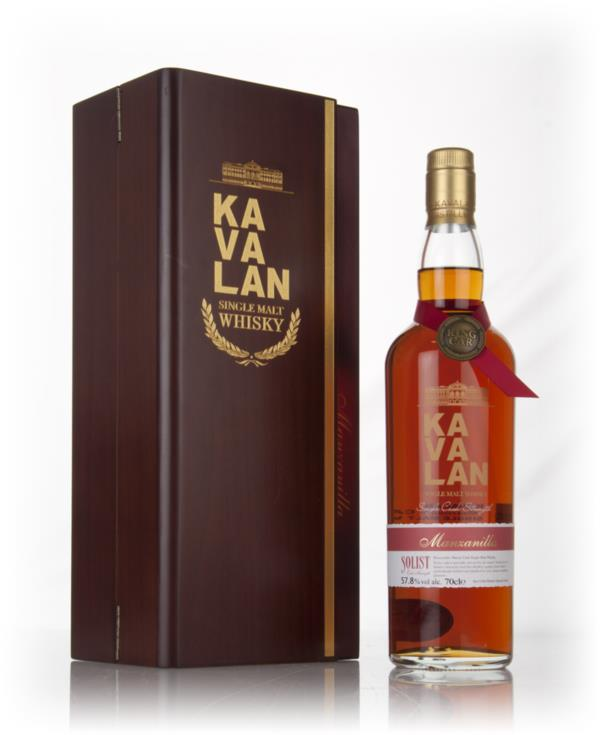Kavalan Solist Manzanilla Cask Single Malt Whisky