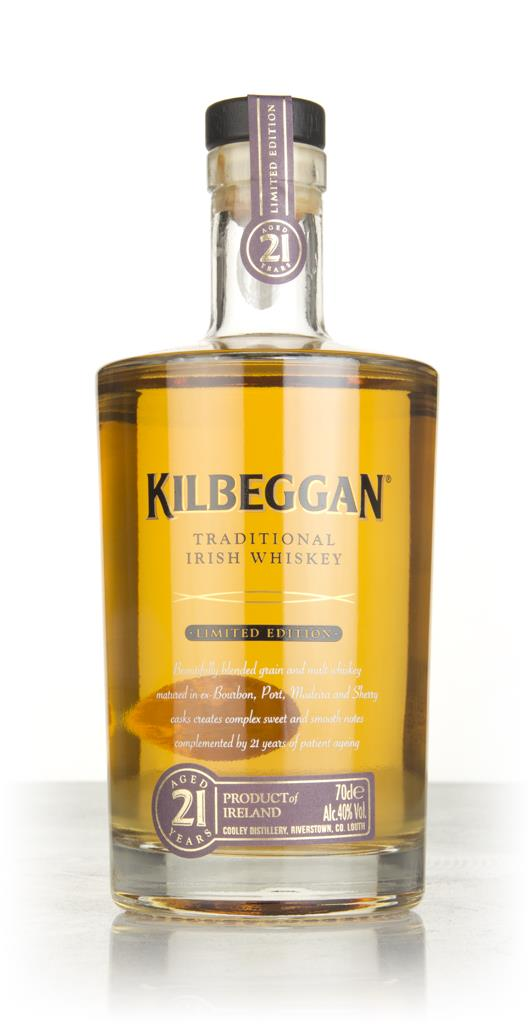 Kilbeggan 21 Year Old Blended Whiskey