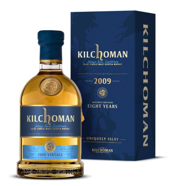 Kilchoman 8 Year Old 2009 Single Malt Whisky