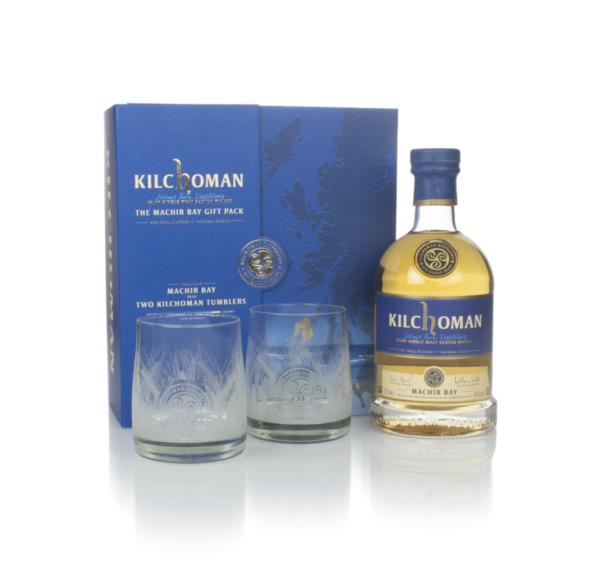 Kilchoman Machir Bay Gift Pack with 2x Glasses Single Malt Whisky